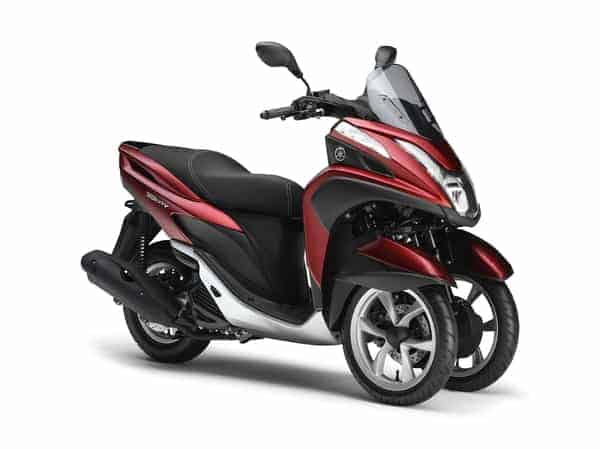 THE NEW YAMAHA TRICITY
