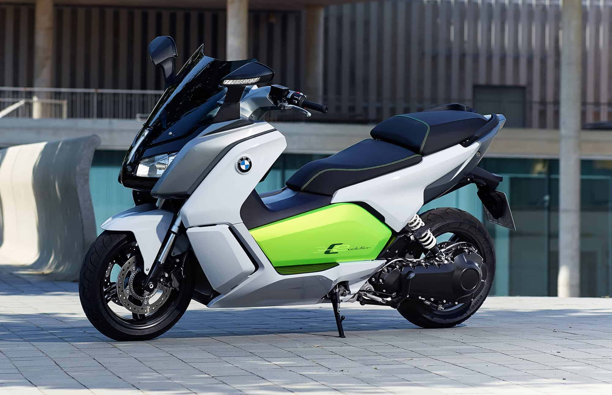 The new BMW C evolution – Dynamic riding fun with zero emissions