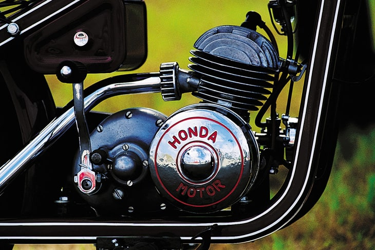 1949 Honda Dream D Engine