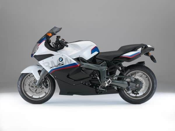BMW K 1300 S Motorsport, Black storm metallic, Light white, Lupine blue metallic
