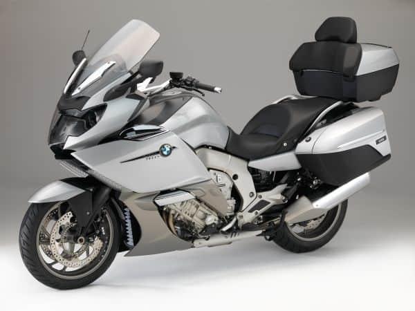 BMW K 1600 GTL, Glacier silver metallic