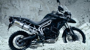2011 Triumph Tiger 800 and Tiger 800XC