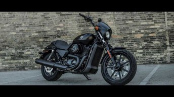 Harley-Davidson Street 750 and 500 Motorcycles