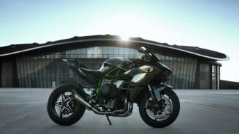 Kawasaki Ninja H2R Official Action Film