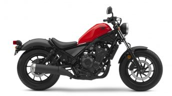Honda Announces 2017 Rebel 300 and Rebel 500