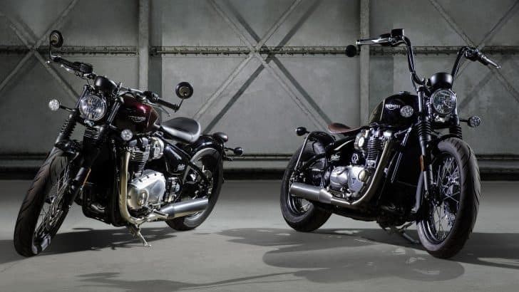 THE ALL-NEW TRIUMPH BONNEVILLE BOBBER